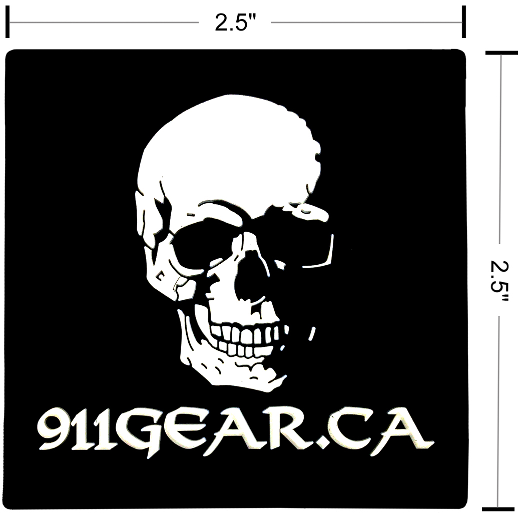 911gear.ca PVC patch