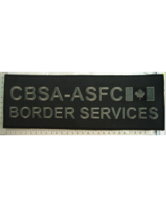 Subdued Bag patches - CBSA (Embroidered)