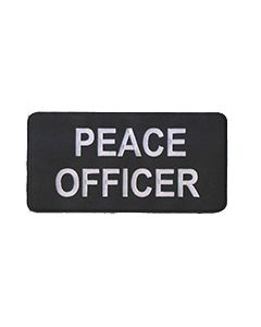 Peace Officer I.D Bar (12.5 cm x 6 cm)