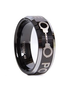 911 Rings - POLICE (Alpha) - Clearance Sizes and Quantites Limited