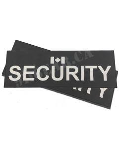 """PVC SECURITY Patch 11.75"""" x 4"""""""