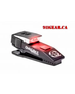 QuiqLiteX Tactical Red/White LED (USB Rechargeable) 20 up to 75 Lumens