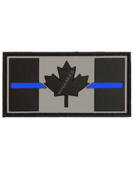 911GEAR.CA Thin Blue Line PVC patch