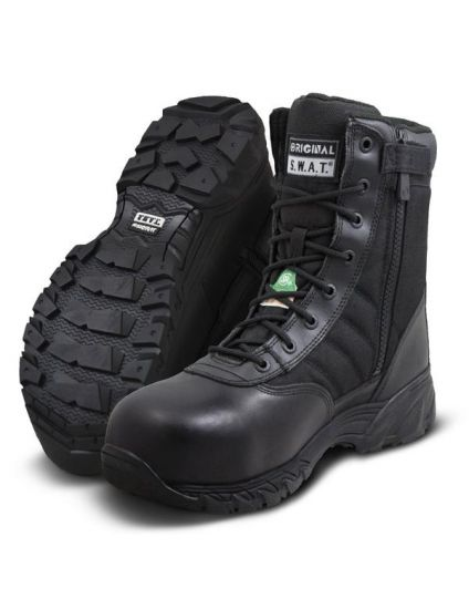 """Original SWAT 2276 Classic 9"""" Side Zip Safety 400 - - FREE SHIPPING"""