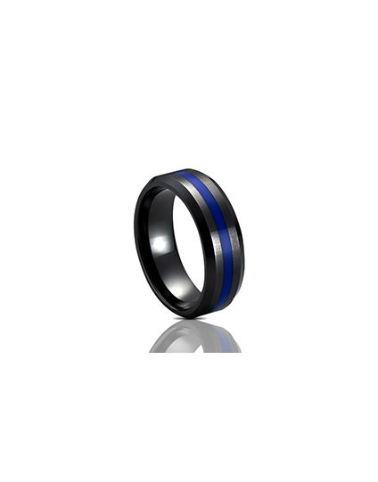 Thin Blue Line Ring - Clearance Sizes and Quantites Limited