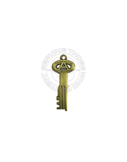 Corrections Key Zipper Pull / Pendant