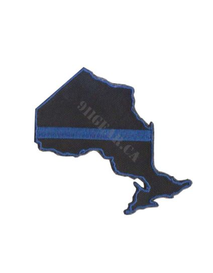 Provincial Blue Line Patches (velcro) - Single