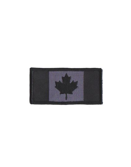 Embroidered Subdued Canadian Patch (velcro)