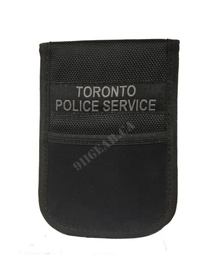 Patrol Notebook Cover with I.D Holder - TPS Printed