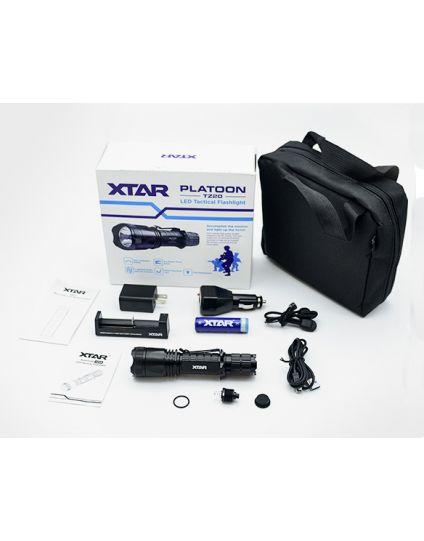 XTAR TZ20  Tactical Flashlight  includes M.O.L.LE Storage Case
