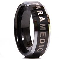 911 Rings - PARAMEDIC (Alpha) - Clearance Sizes and Quantites Limited