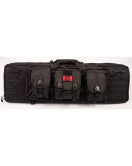 "BLACK BEAR GEAR, 36"" double sided Rifle bag with shoulder straps"