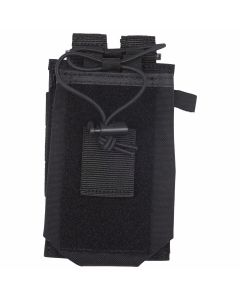 the 5.11 MOLLE radio holder is designed to be worn on MOLLE systems or your duty belt. Available at 911gear.ca