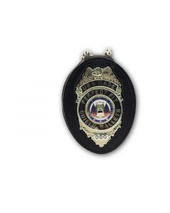 """Perfect Fit Belt Clip Badge Holder (30"""" Chain)"""