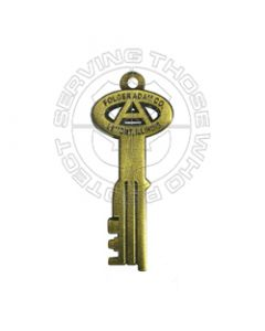 Corrections Key Zipper Pull / Pendant