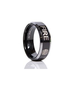 911 Rings - FIRE (Alpha) - Clearance Sizes and Quantites Limited