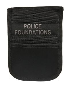 Patrol Notebook Cover with I.D Holder - POLICE Foundations