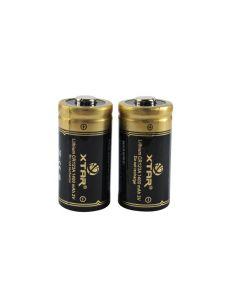 Xtar Disposable CR123 Batteries 1400 mAh - 2 Pack