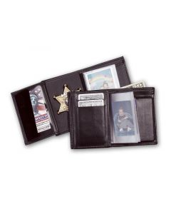 Perfect Fit Recessed badge Wallet