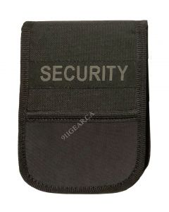 Security Notebook Cover