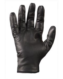 TurtleSkin Delta is the ultimate all leather police glove with the trusted cut and puncture protection.