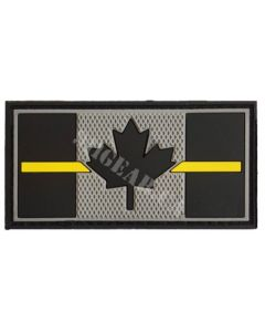 Thin Yellow Line PVC Patch