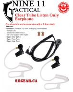 Listen Only Earpiece - 2.5mm only - Clearance