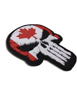 Canadian Skull Patch