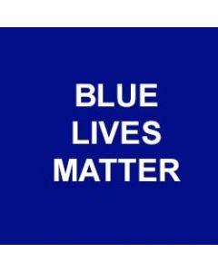 Blue Lives Matter Bracelet (includes Shipping)