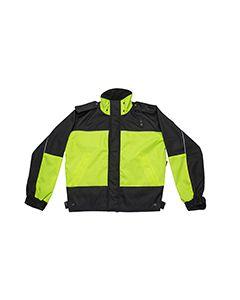 3 Season Duty Jacket Hi Viz Yellow and black - 4X LARGE