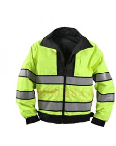 911 Gear Hi Viz Duty Jacket - Reversable Lightweight CLEARANCE - EXTRA LARGE