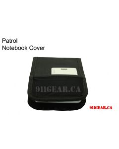 Patrol Notebook Cover with I.D Holder