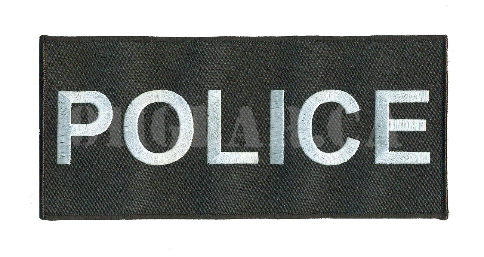 embroidered velcro Police Patch