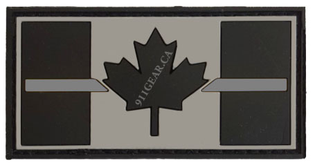 PVC CORRECTIONS  thin silver / gray line patch