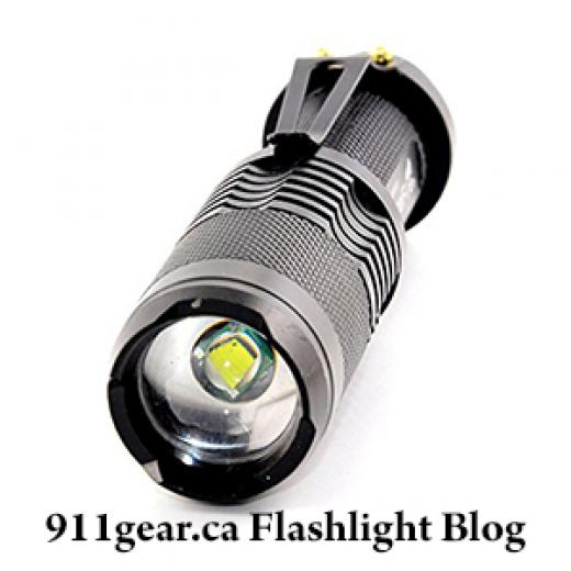 Tactical LED Flashlights - Part 1