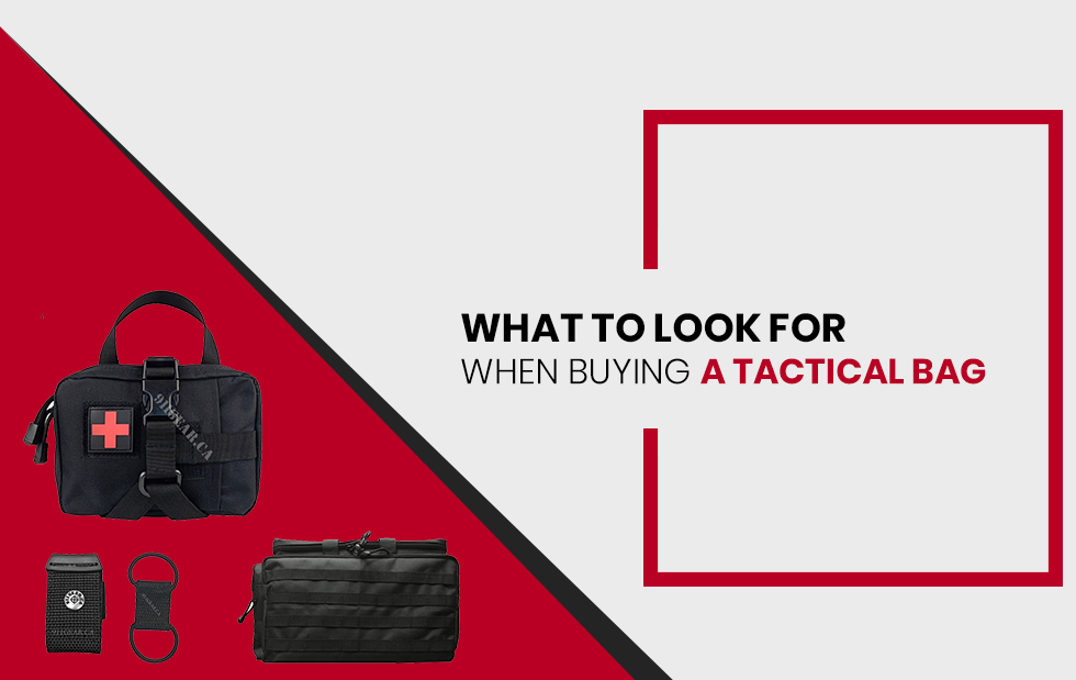 What to Look for When Buying a Tactical Bag