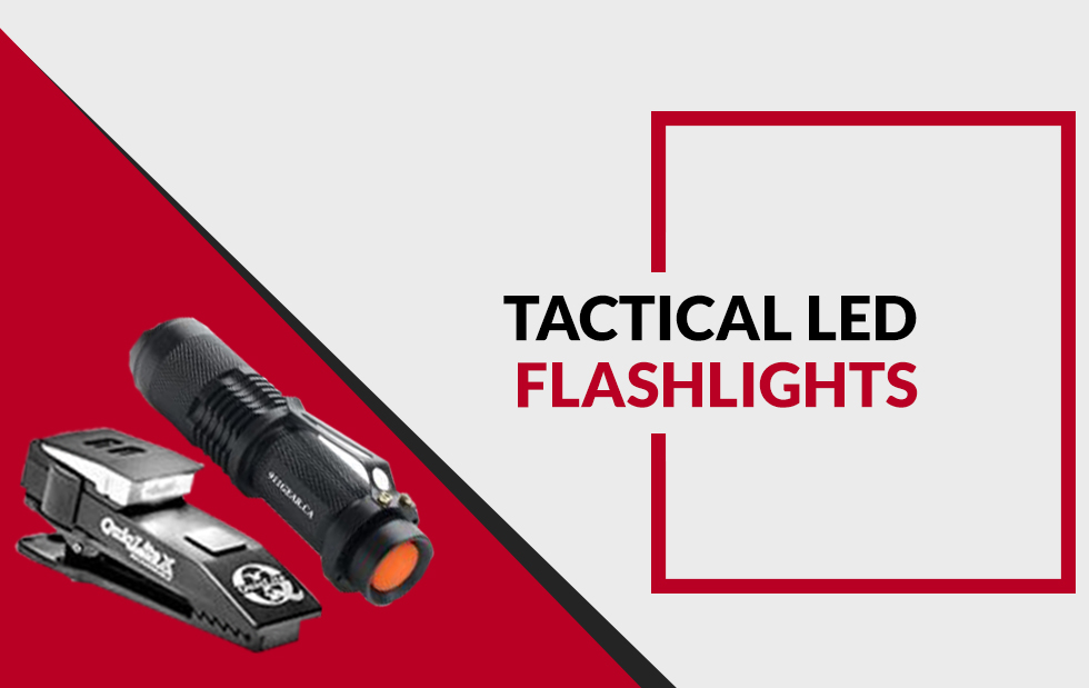 Reasons Why an LED Tactical Flashlight is Better than a Regular Flashlight