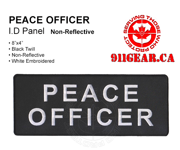911gear.ca PEACE OFFICER uniform patch 8