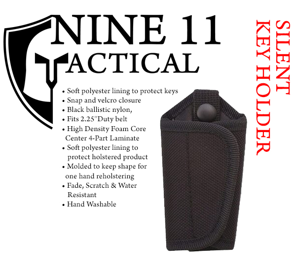 nine 11 tactical silent key holder available at 911gear.ca