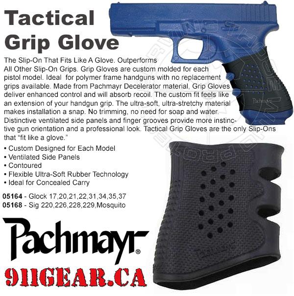 pachmayr - Tactical Grip Glove  available at 911gear.ca