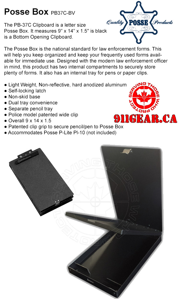 Posse Box PB37C-BV  available at 911gear.ca