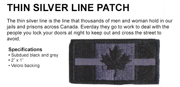 thin blue line patch available at 911gear.ca