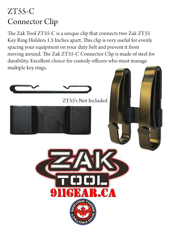 Zak Tools ZT55C Connector clip available at 911gear.ca